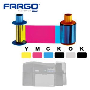 Fargo YMCKOK 45110