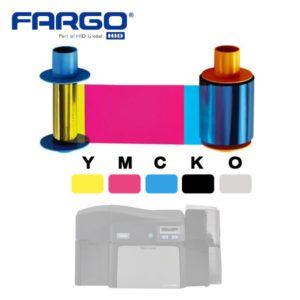 Fargo YMCKO 45100