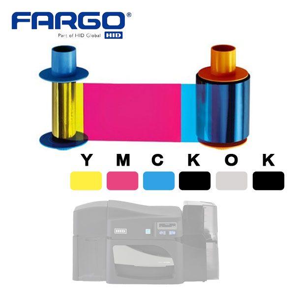 Fargo YMCKOK 45210
