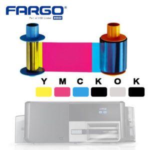Fargo YMCKOK 45710