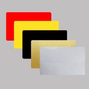 Karty kolorowe